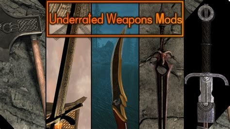 Skyrim- 5 Underrated Immersive Weapon Mods - YouTube