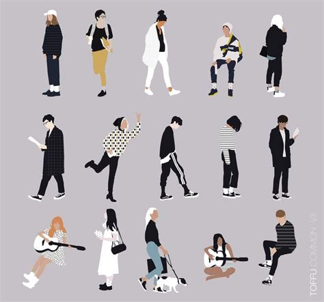 Vector People for Architecture | toffu