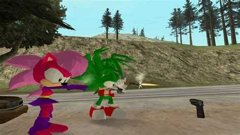 Sonia and Manic news - GTA Sonic 4 Mod for Grand Theft