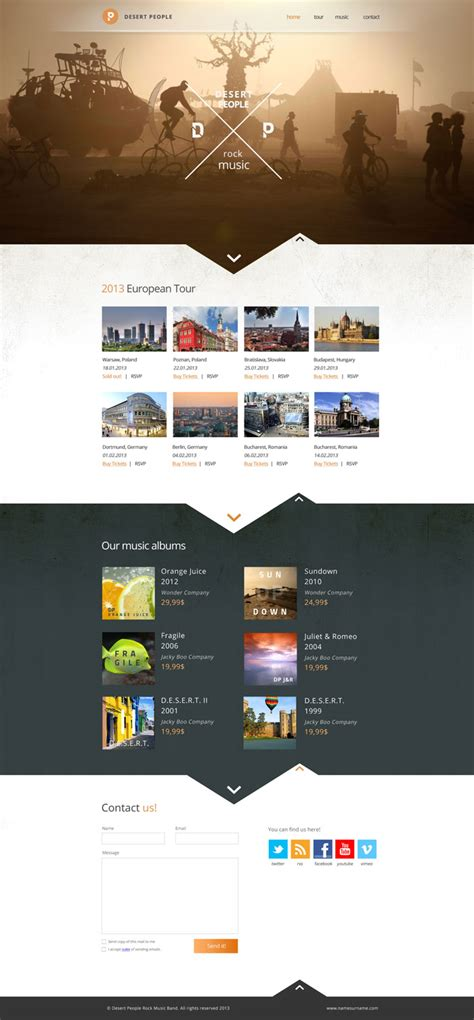 Modern Website Layout Designs For Inspiration - 22 Examples