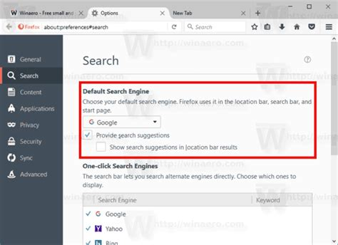 How to Disable Address Bar Search Suggestions in Firefox 55