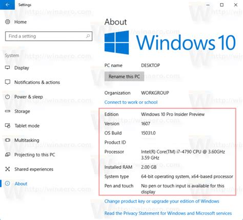 How to See System Information in Windows 10