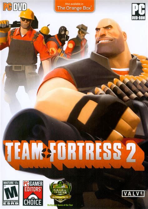 Team Fortress 2 (2007) Windows box cover art - MobyGames
