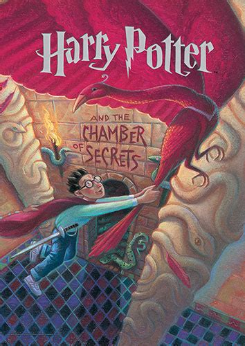 Harry Potter (Book Cover - Chamber of Secrets) MightyPrint