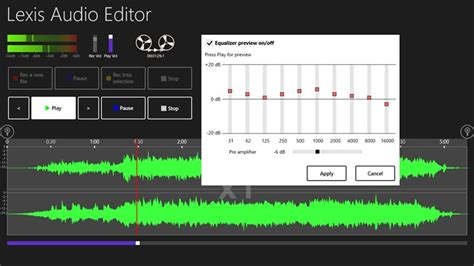 Lexis Audio Editor for Windows 8 and 8