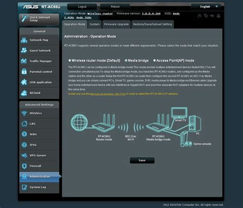 Design & Features : ASUS RT-AC66U Wireless-AC Dual-band