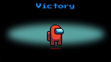 Among Us - Victory Screen with CSS
