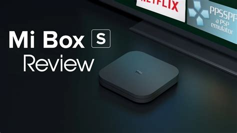 Xiaomi Mi Box S Android TV Review - YouTube