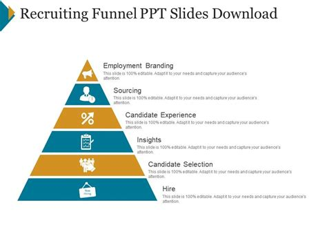 Recruiting Funnel Ppt Slides Download | Template