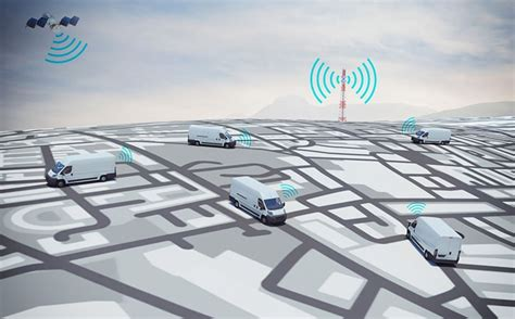 How IoT empowers vehicle tracking system