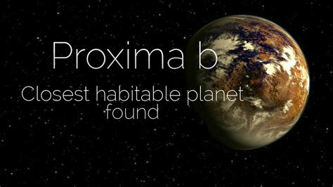 Proxima b in Centaurus- Scientists just discovered the