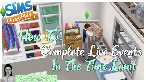 The Sims FreePlay: 5 Tips On How To Complete Live Events