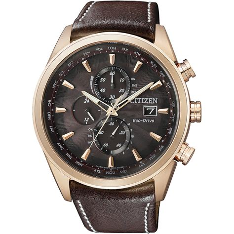 Citizen AT8019-02W watch - Radio Controlled Eco-Drive