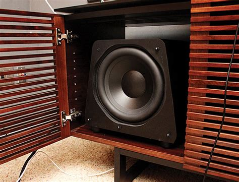 The Cabinet & the Subwoofer | Sound & Vision